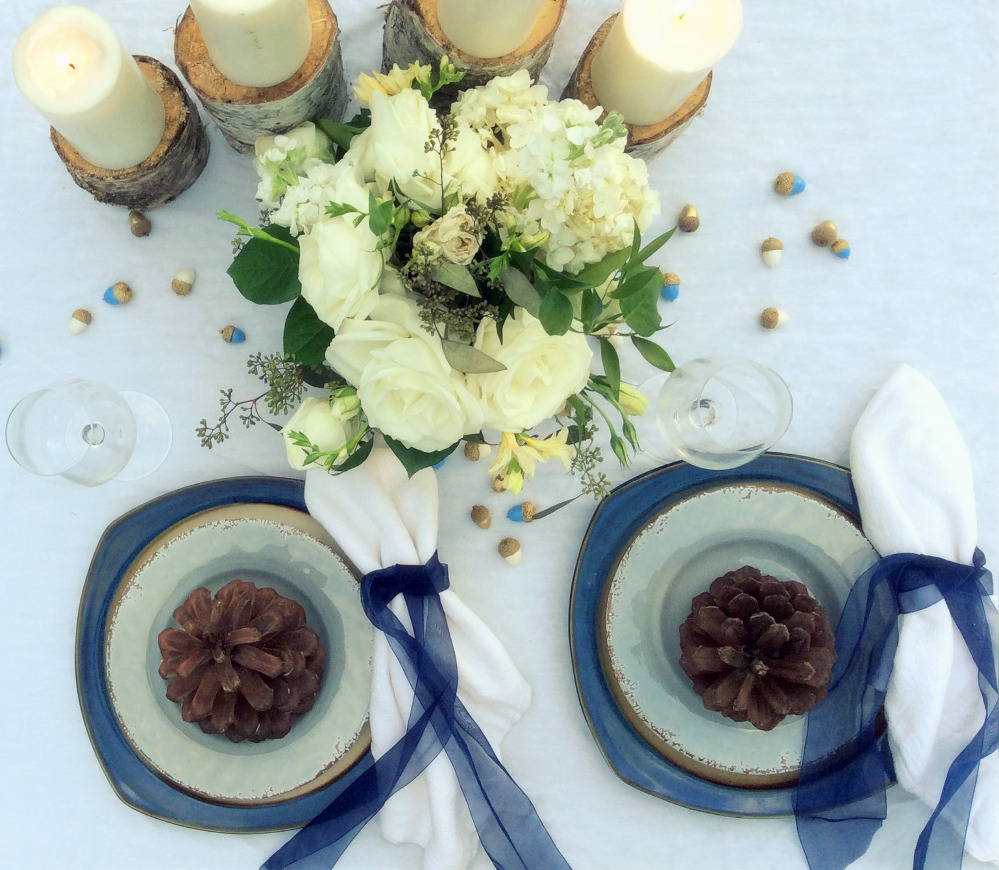 blue tablescape acorns.jpg