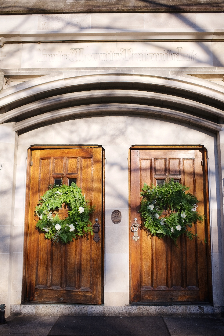 wreath on church doors.jpeg