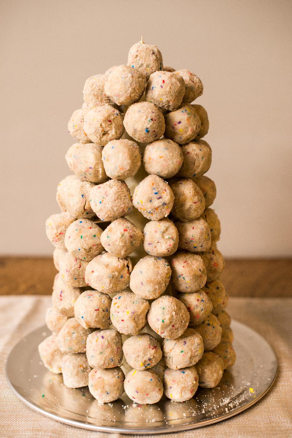 confetti cake truffle