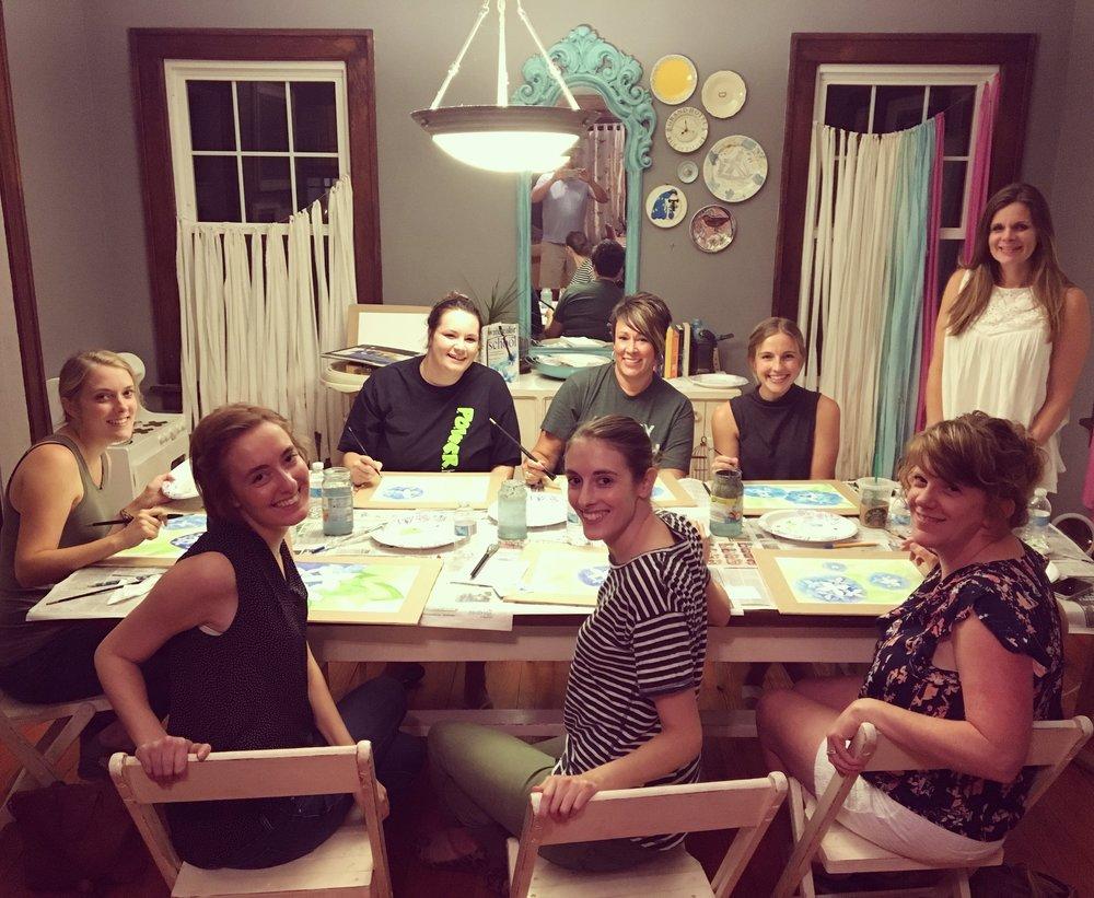 Share your Women posing for art classes