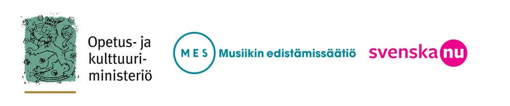 Toimintaamme tukevat Opetus- ja kulttuuriministeriö sekä Musiikin edistämissäätiö (MES).