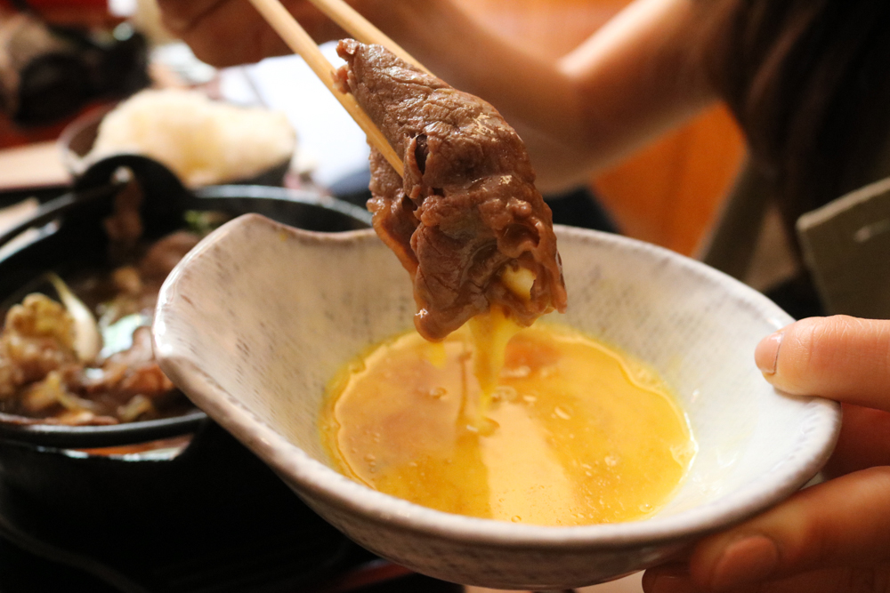 Raw egg sauce- Original Japanese way to eat Sukiyaki