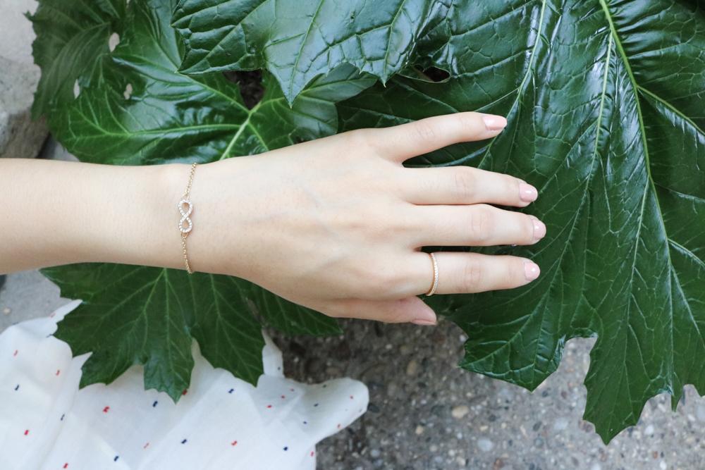 Shimmer Bar Ring- Gorjana