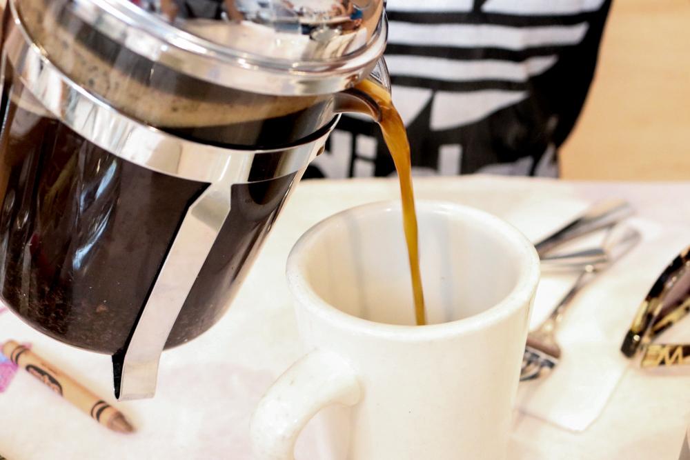 2 cup French press single-origin coffee (Tanzania)