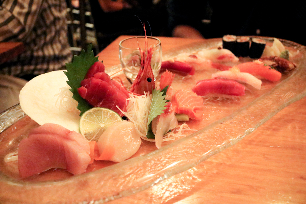 Omakase, Chef's Selection of Sushi and Sashimi