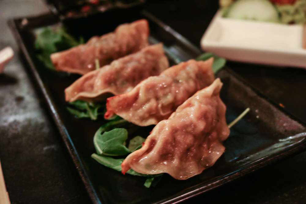 Pan-Fried Lamb Dumplings