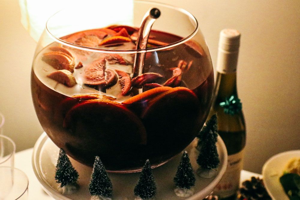 Homemade Sangria by Sarah Kim