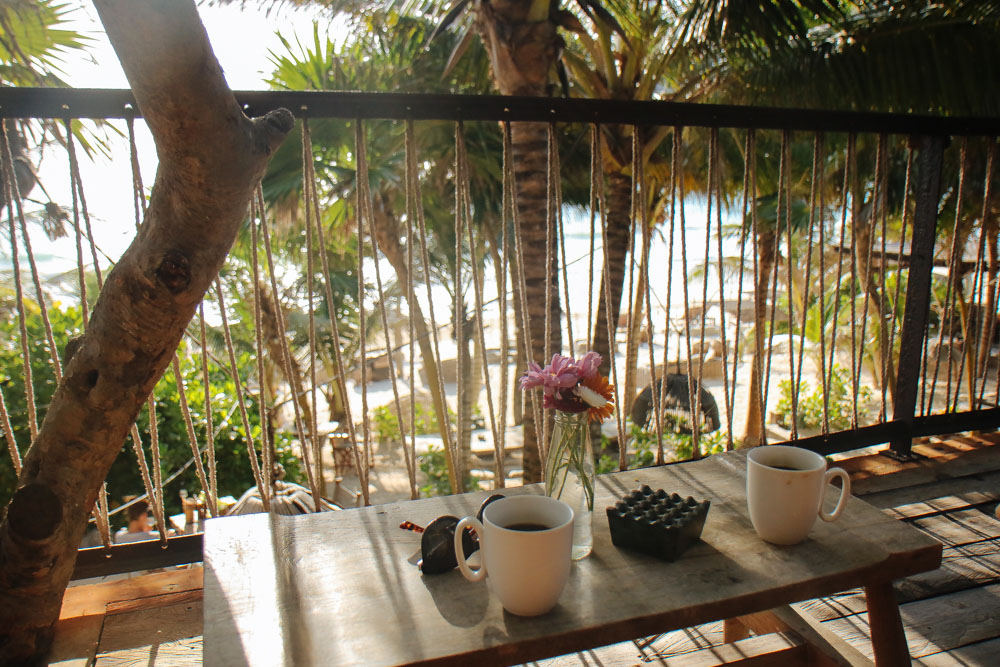 Breakfast at the Balcony, with a Oceanview