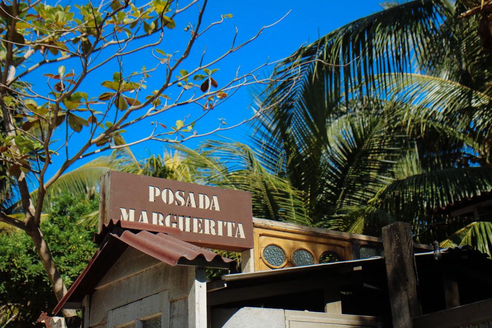 Lunch-stop at  Posada Margherita