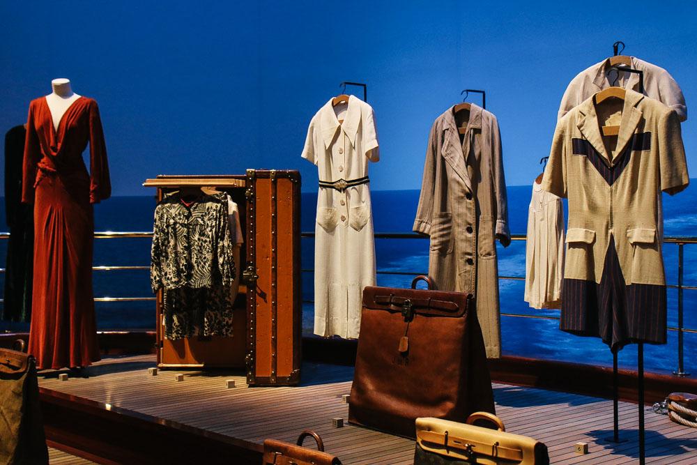"""Louis Vuitton  """"Volez, Voguez Voyagez""""  Exhibition in New York"""