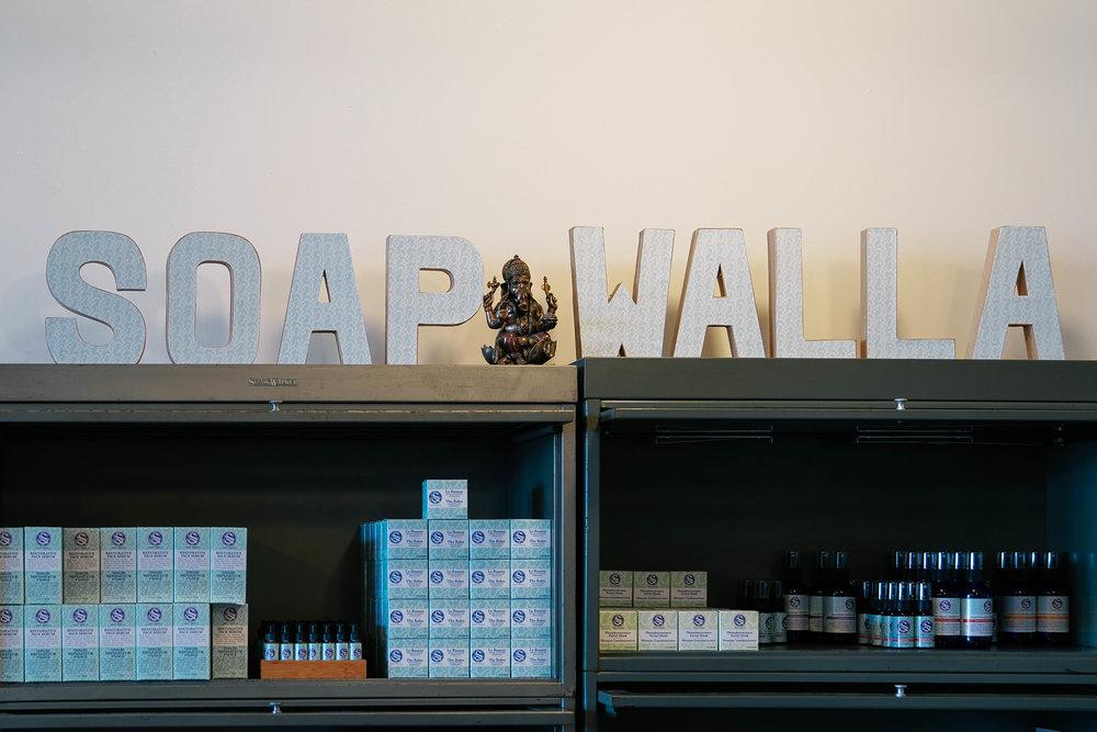 a Visit to  Soapwalla  Studio in Gowanus, Brooklyn.
