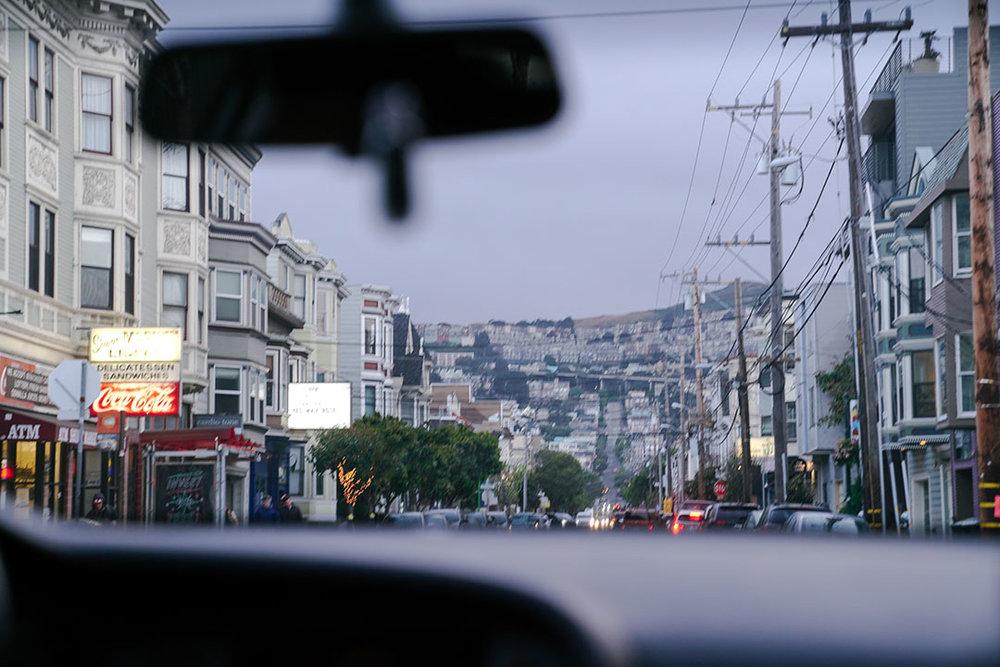 Back in SF