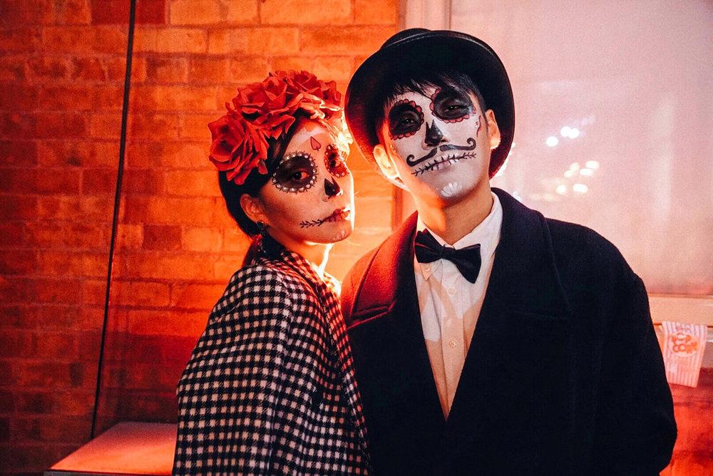 Happy Halloween from Bobo and Bibi 💀 🎃