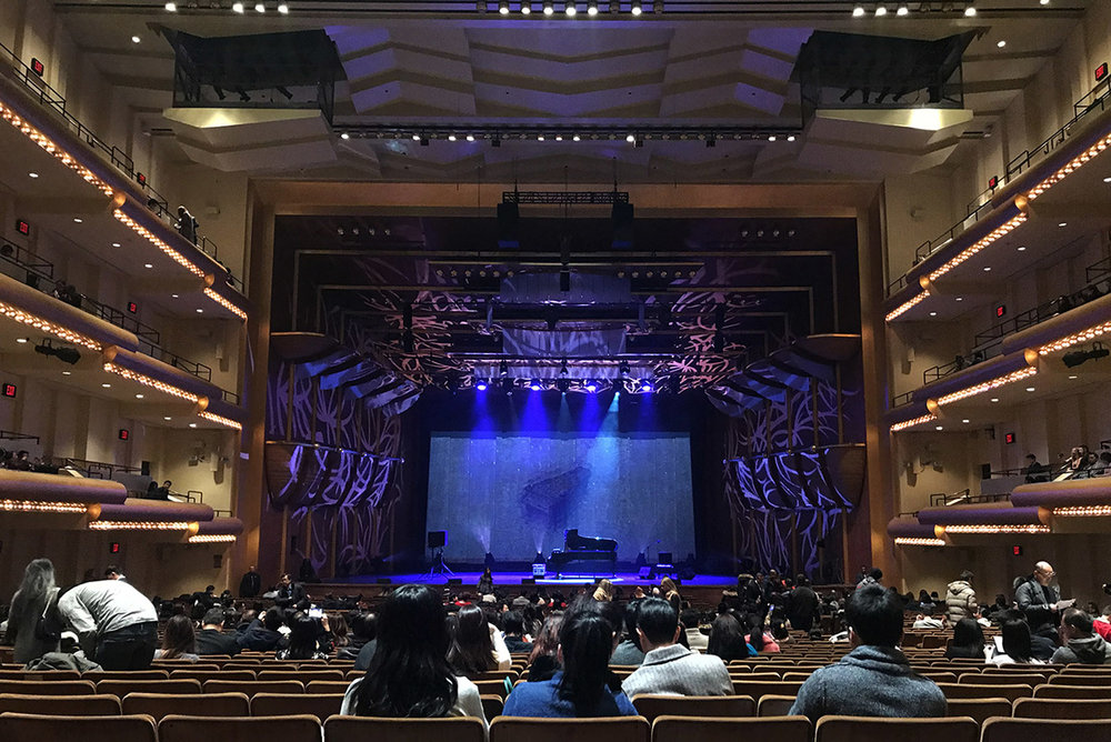 Yiruma LIVE in America at Lincoln Center  on Christmas Eve
