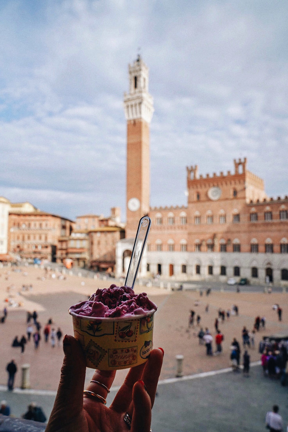 Gelato with a view