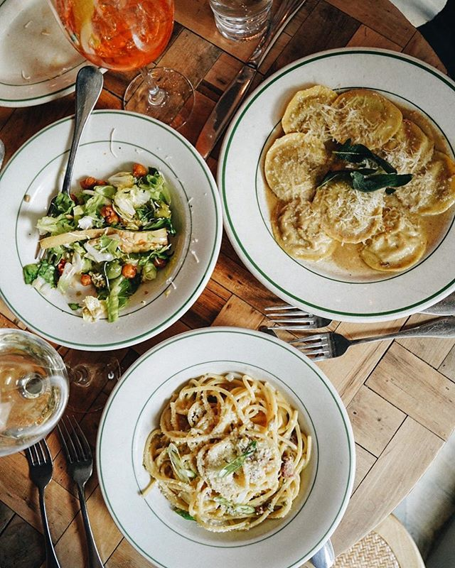Craving pasta today! @rosemarysnyc 🍝 #whattoeattoday