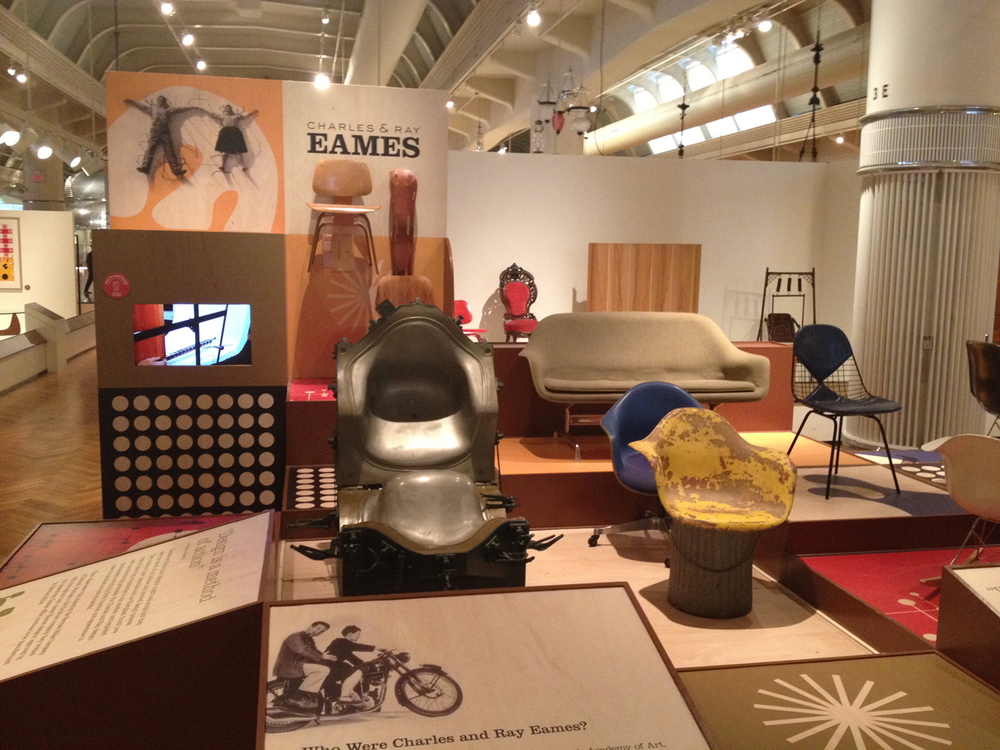 Eames Exhibit Museumu0027s Eamesu0026nbsp;collection  Includesu0026nbsp;rareu0026nbsp;prototypes And Furniture Molds And The