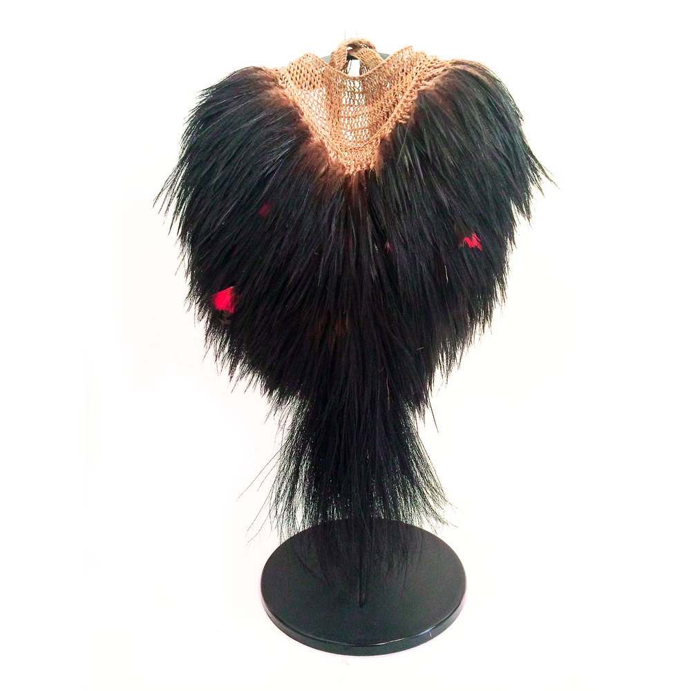 MID-20TH CENTURY BILLUM FEATHER BAG