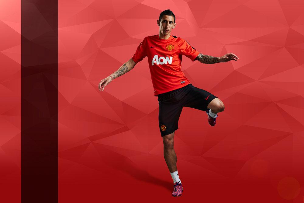 Manchester United - Aon - De Maria