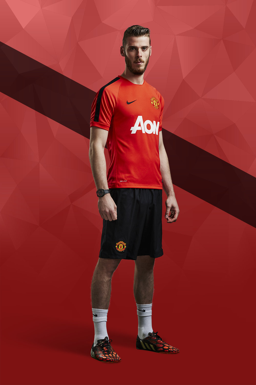 Manchester United - Aon - De Gea, Mata