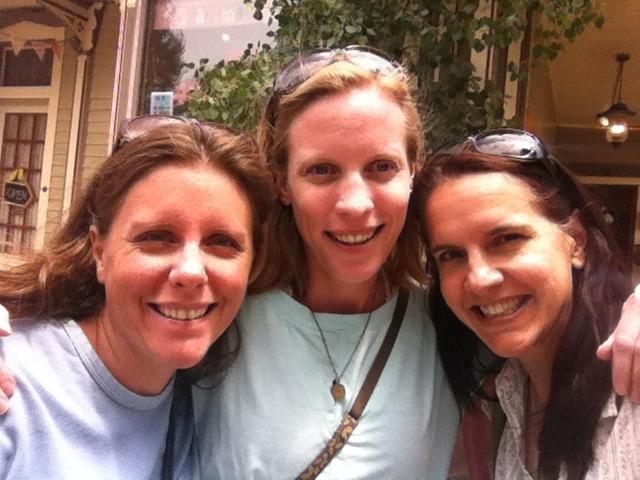 Carri, Gina, Jen.