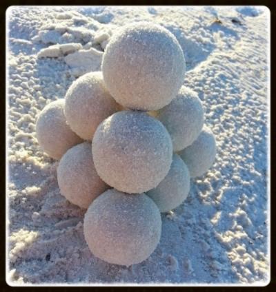 Siesta sand sculpture