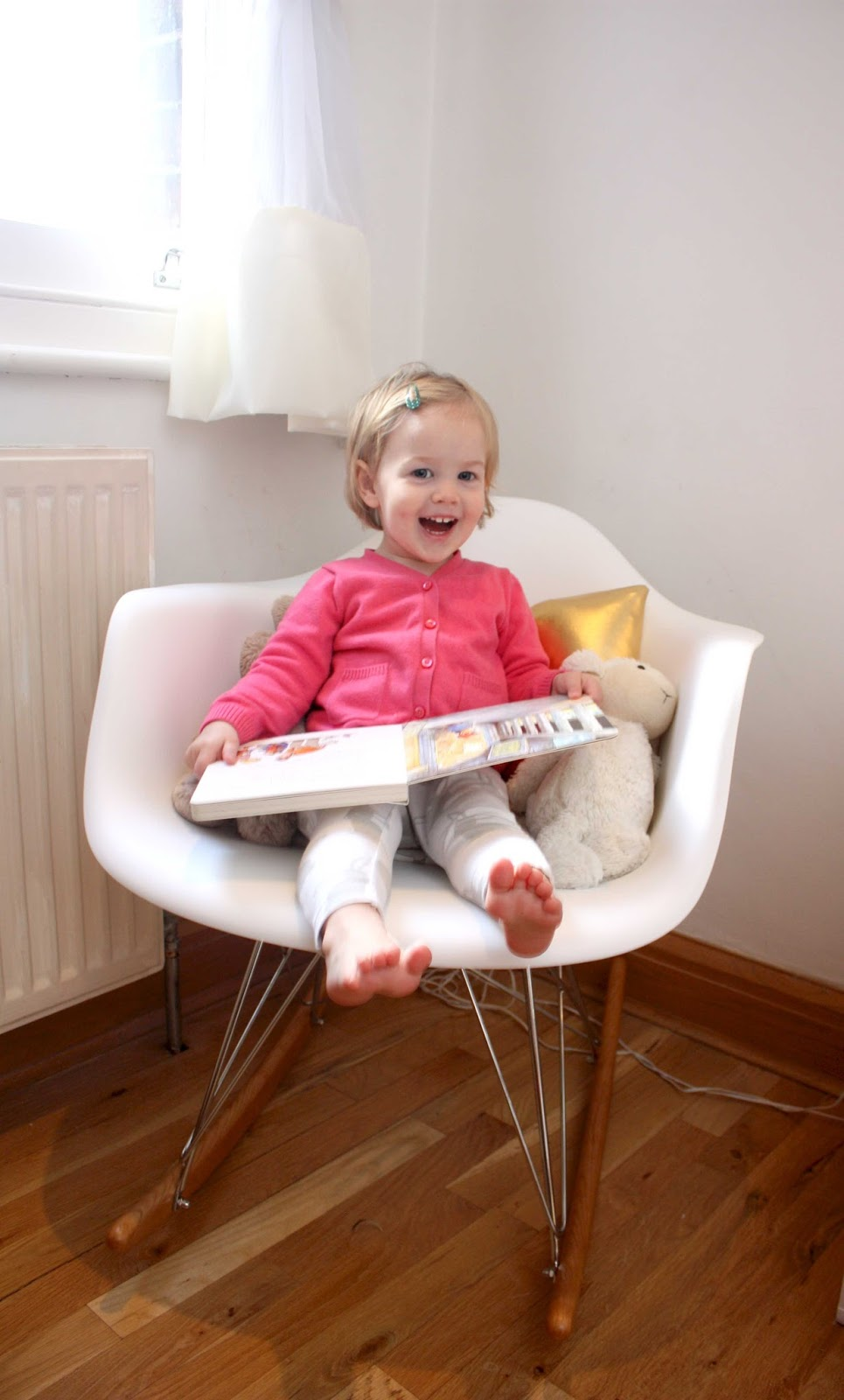 meg-made: Baby to Little Lady Nursing/Rocking chair Eames RAR
