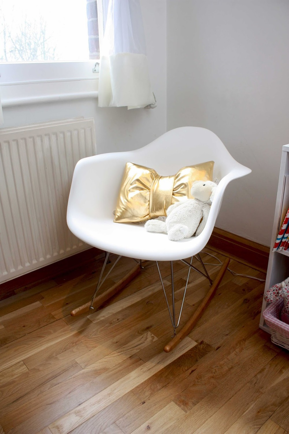 Delightful Meg Made: Baby To Little Lady Nursing/Rocking Chair Eames RAR
