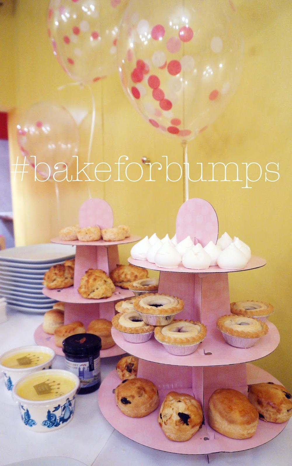 meg-made bloggers bake for bumps #bakeforbumps