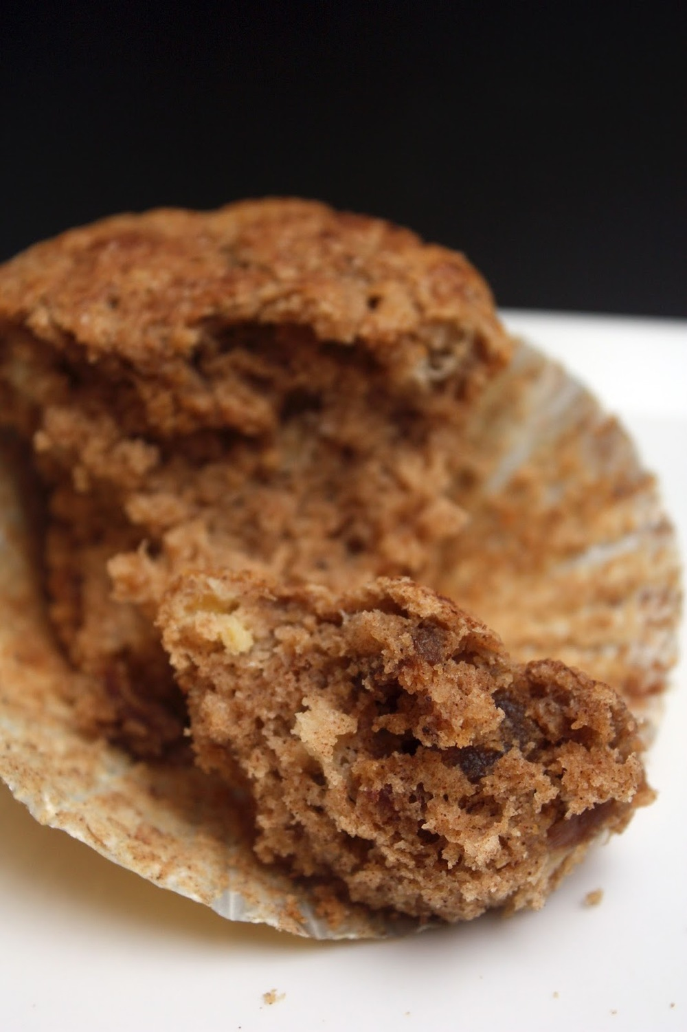 meg-made gluten free banana date and cinnamon muffins