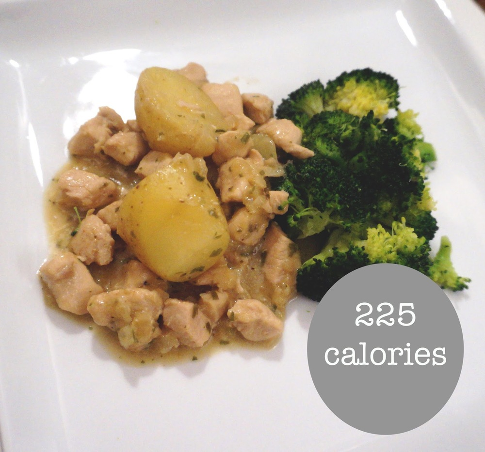 meg-made: Lose Day Tuesday (Fast Diet recipe) Tarragon Chicken