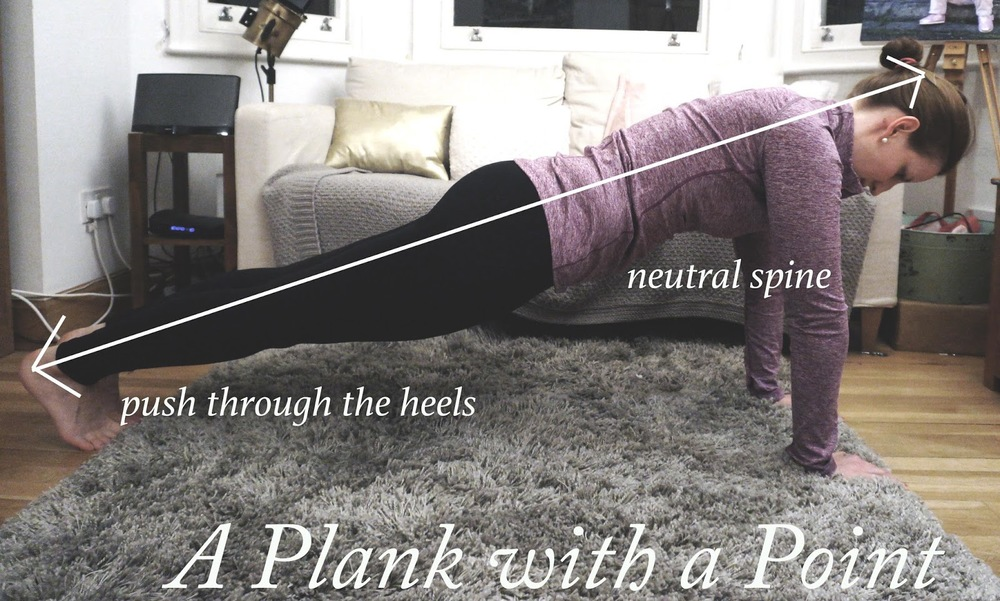 meg-made: How to do a proper plank with Joanne Elphinston