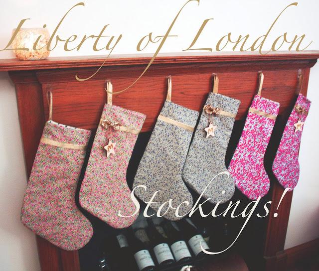 meg-made Liberty London Christmas Stocking