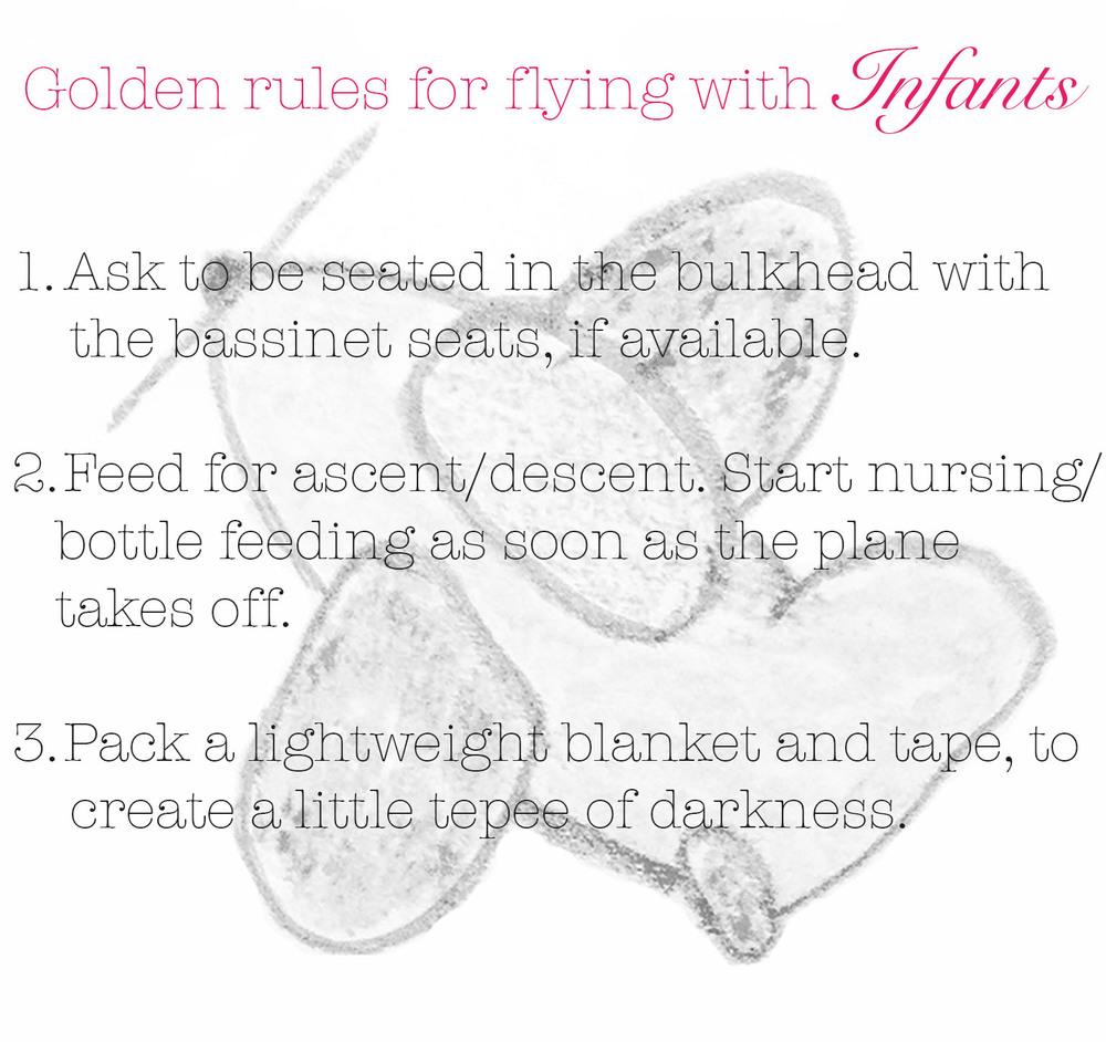 meg-made golden rules for flying with infants