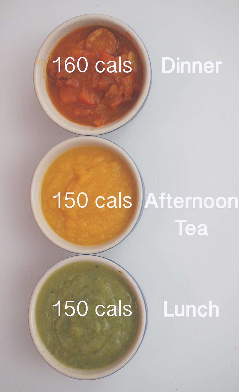 The Fast Diet recipes meg-made: Soup trio