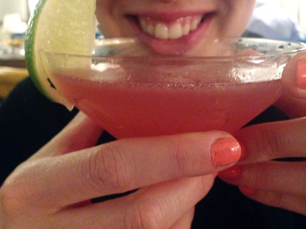 And then had a melon cosmopolitan too!