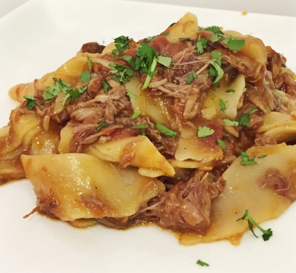 Gordon Ramsay's slow-braised beef-cheeks with pappardelle (my take on ...