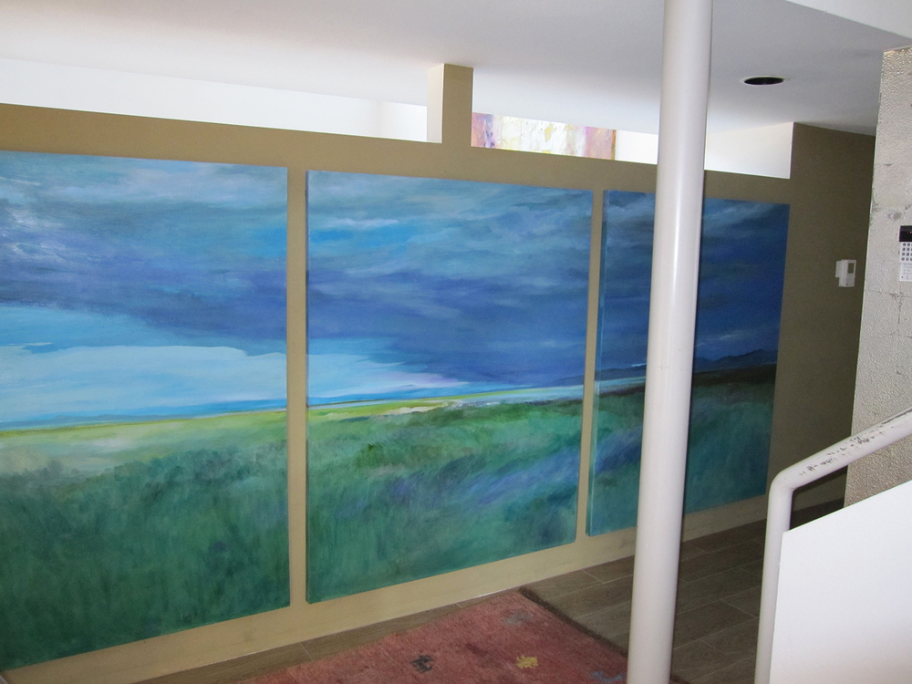 Delta Storm 5 x 12' (triptych)