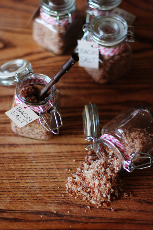 Image credit: insane bacon salt via  Honestly Yum