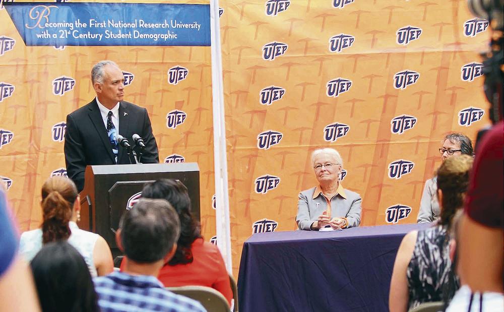 Photo by J.R. Hernandez / UTEP News Service