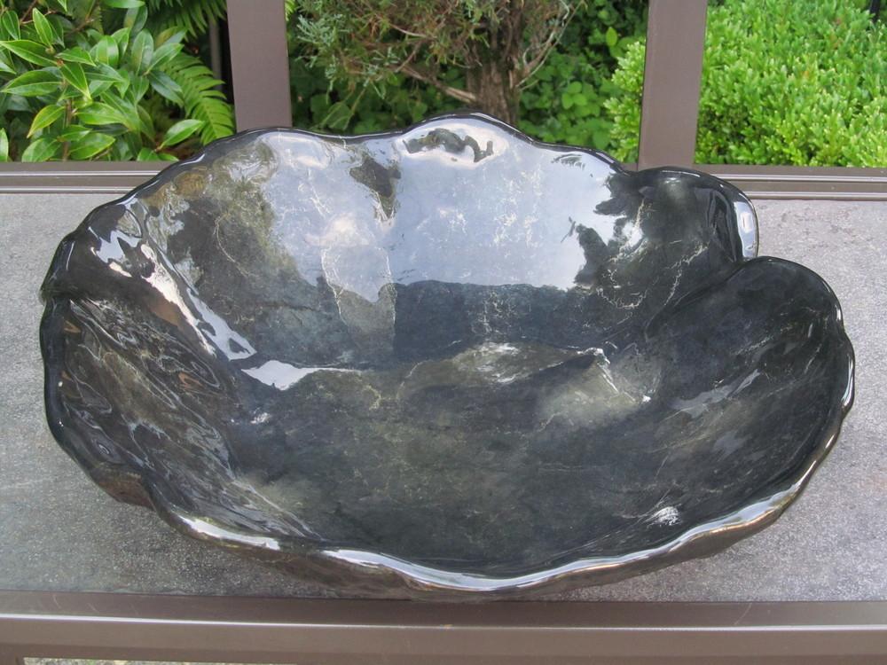 """Flora"" in aluminum with a custom Patina"