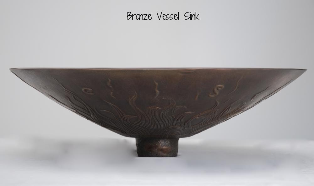 Solid Bronze Vessel Sink