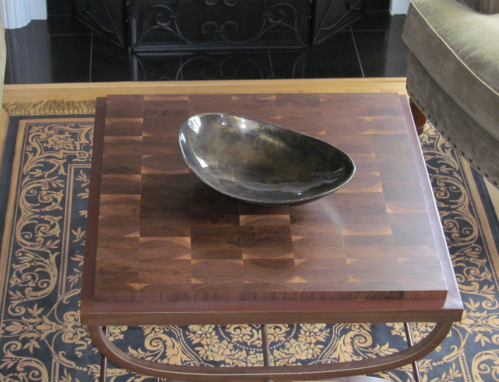 Laminated Walnut Coffee Table.JPG