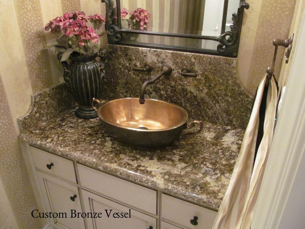 Custom Bronze Vessel Sink