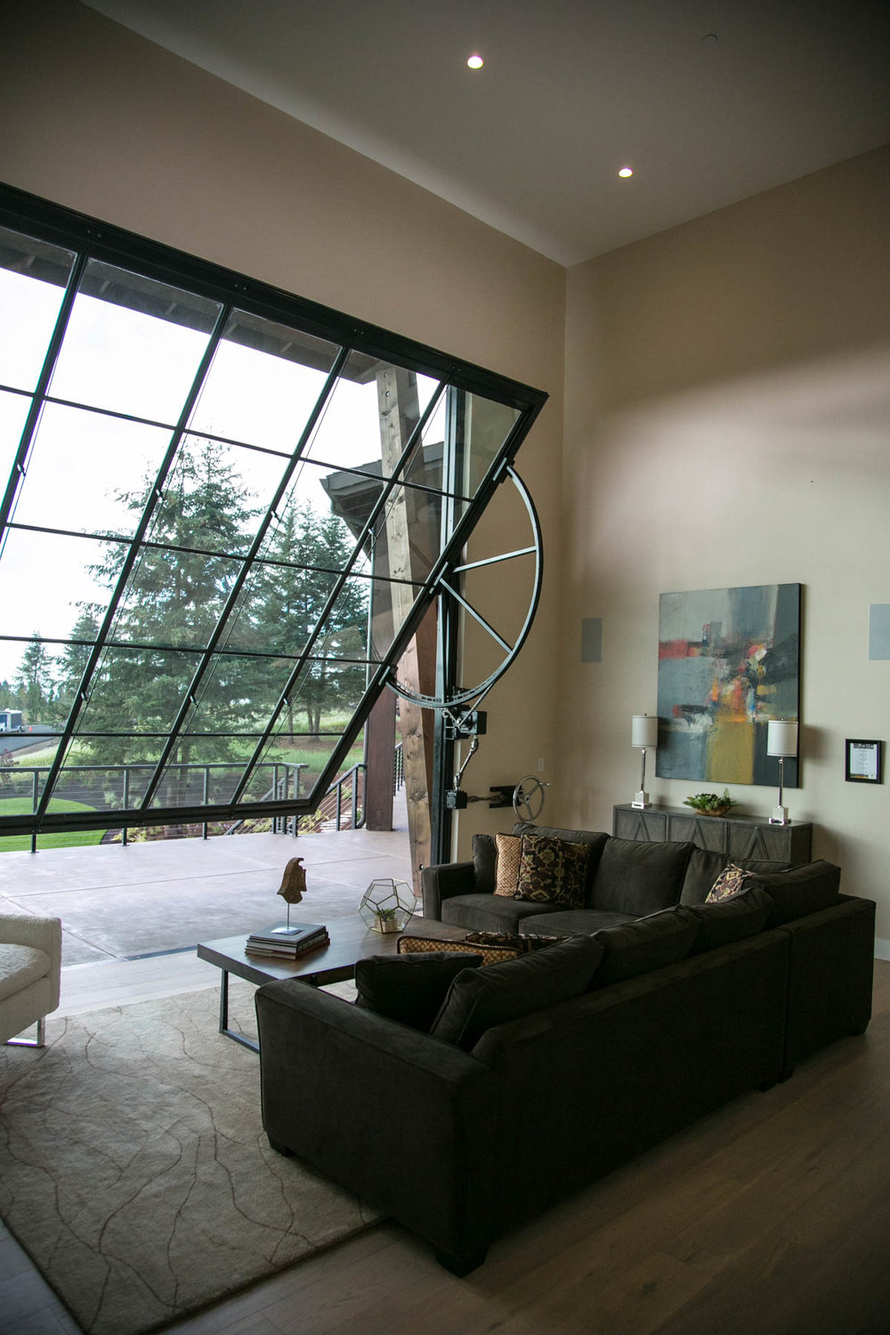 Two-Story Game Room