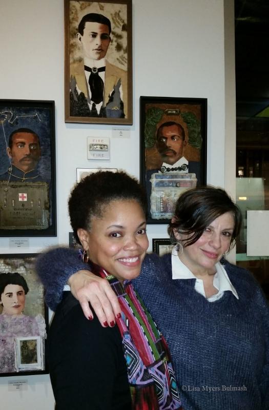 My fellow EDGE program grad Mary Lamery and me.