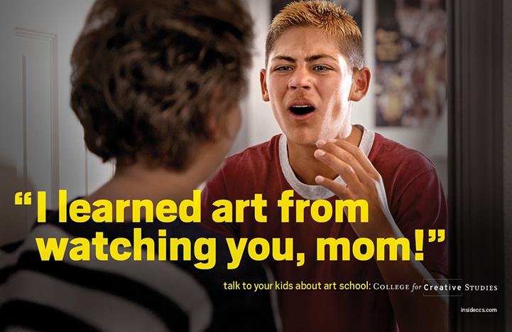 Credit: College for Creative Studies, Detroit, MI