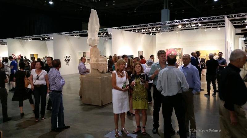 Inaugural Seattle Art Fair, 2015