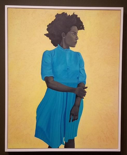 "Amy Sherald, ""Saint Woman"""