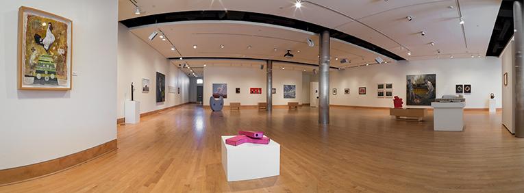 Ledbetter Gallery, Cole Art Center. Photo credit: SFASU School of Art